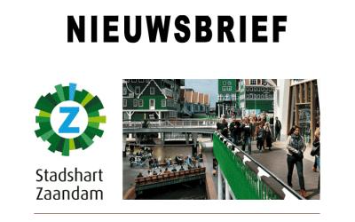 Nieuwsbrief Stadshart Zaandam november 2016