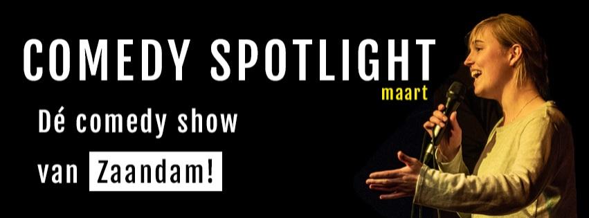 Comedy Spotlight Zaandam | maart